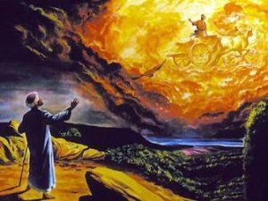 """De cine a fost """"răpit"""" Sf. Ilie, într-un car de foc? De vreun extraterestru avansat?"""