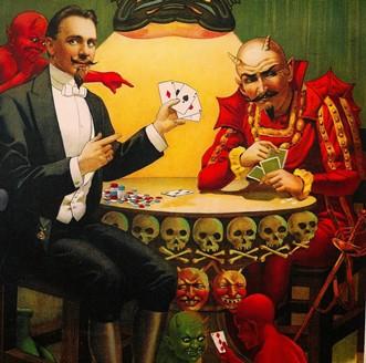 """""""Lordul cel Groaznic"""" şi jocul său de cărţi cu diavolul, în castelul cel bântuit"""