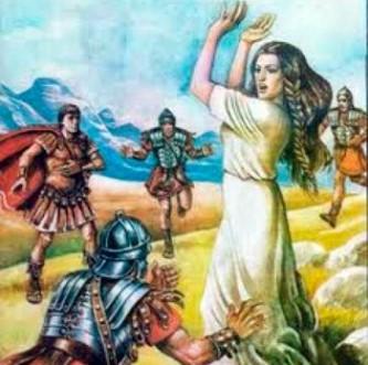 Conform unei legende româneşti, Dochia - fiica lui Decebal - încă mai trăieşte ascunsă prin munţii României