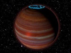 O planetă gigantică a fost descoperită în afara sistemului nostru solar: are un câmp magnetic de milioane de ori mai puternic decât cel al Pământului
