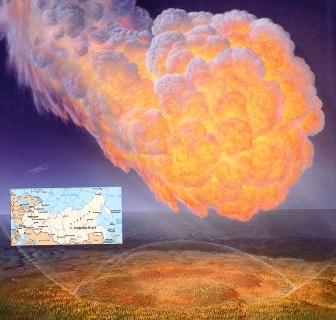 Misterioasa şi gigantica explozie Tunguska din 1908 ar fi putut fi produsă de o astronavă extraterestră cu motor nuclear