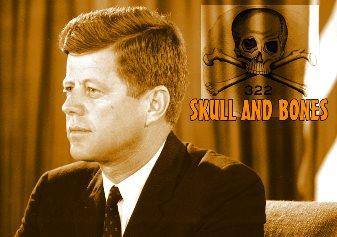 """Preşedintele John F. Kennedy a fost asasinat în urma unui complot al temutei societăţi secrete """"Skull and Bones""""?"""
