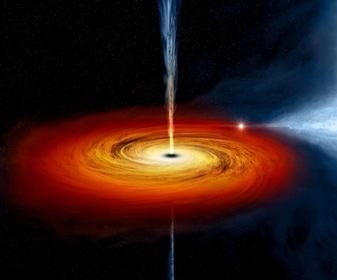 O nouă teorie uluitoare: materia atrasă într-o gaură neagră călătoreşte în viitor, fiind ejectată înapoi în Cosmos