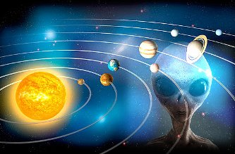 """Civilizaţii extraterestre avansate au plasat """"sateliţi santinelă"""" în sistemul nostru solar, sub formă de comete, pentru a ne monitoriza? Informaţii uluitoare pot confirma această ipoteză"""