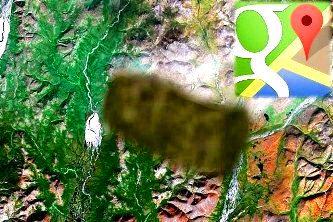Cele mai suspicioase 12 locuri din lume blurate de Google Maps