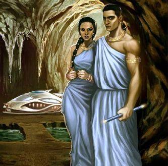 Acum câteva milenii, fiinţe cu pielea aurie au sosit în California, venind de pe alte planete - spun legendele indiene. Ei s-au retras sub pământ şi foloseau aeronave argintii...