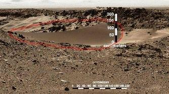 """Priviţi această dună de nisip anormală fotografiată de NASA pe Marte.... Pare prea """"photoshopată""""! Ce ne ascunde NASA?"""