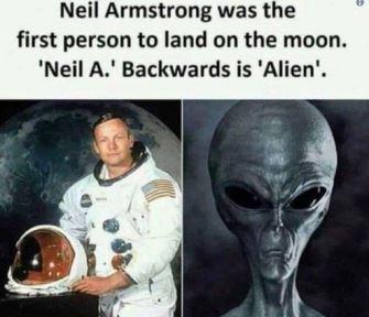 """Mesajul şocant de pe Twitter al miliardarului Elon Musk: """"Neil Armstrong a fost primul om pe Lună. """"Neil A."""" scris invers dă """"Alien"""" (extraterestru). Nu există coincidenţe!"""""""