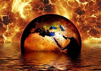 La intervale regulate asupra Pământului se abate un foc imens global care distruge o mare parte din viaţă? Conform legendelor, se pare că da...