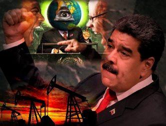 Venezuela are cele mai mari rezerve de petrol din lume: 300 de miliarde de barili! De aceea, oligarhii globalişti vor să-l dea jos pe preşedintele Maduro, care nu-i ascultă...