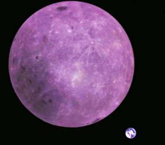 Faţa ascunsă a Lunii şi Pământul apar într-o imagine uluitoare, ce n-aţi mai văzut-o până acum