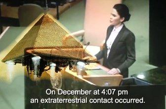 Discurs şocant la ONU, înregistrat pe ascuns: o aeronavă extraterestră, sub formă de piramidă, a zburat deasupra Pentagonului, de unde a trimis un mesaj incredibil, interceptat de către NASA