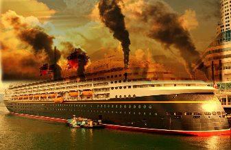 Cele mai mari 15 nave de transport poluează mai mult decât toate cele 750 de milioane de maşini din lume!