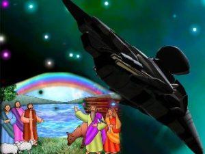 """""""Curcubeul Domnului"""" din Biblie, legământul dintre Dumnezeu şi Noe, este acelaşi cu misteriosul satelit """"Black Knight"""" de deasupra Pământului?"""