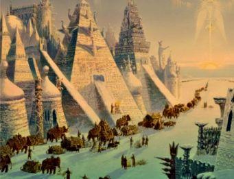 Ce-au văzut locuitorii din Scoţia timp de câteva ore? O cetate de cristal ce nu există pe Pământ, putând fi chiar o proiecţie în timp a unui oraş din Hyperborea...