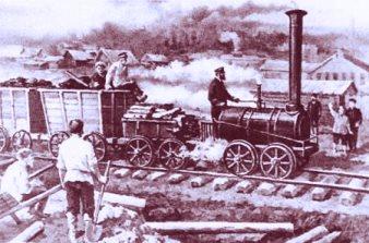 Când a fost inventat trenul cu aburi, tuturor le era frică să se urce în el! Credeau că diavolul porneşte trenul, nu motorul...