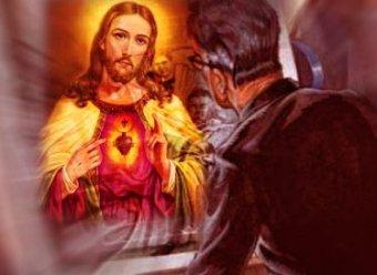 Iată imaginea pe care părintele Ernetti de la Vatican pretinde că a surprins-o acum 2.000 de ani, la crucificarea lui Iisus, cu ajutorul Crovizorului. Arată incredibil...