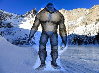 O creatură bizară de 2,5 metri înălţime a fost filmată în Munţii Stâncoşi din SUA