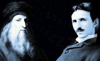 Secretele geniilor Da Vinci şi Tesla: reprize de somn de 15-20 de minute, la fiecare 4 ore