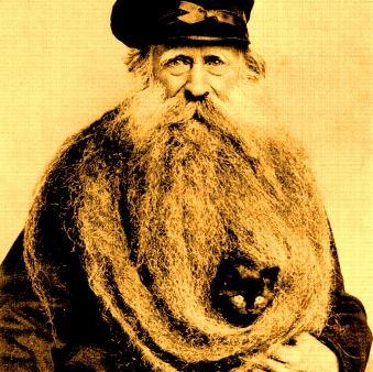 """Monstruoasa barbă a unui francez... avea """"doar"""" 3,3 metri lungime!"""
