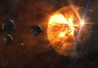 """Un obiect ceresc extraterestru, din alt sistem solar, """"a lovit"""" Pământul în 2014 - spun cercetătorii"""