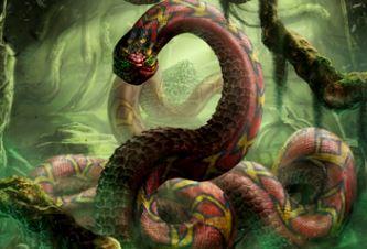 Grootslang, şarpele-monstru din Africa de Sud care păzeşte comorile. Poate fi legenda sa adevărată?