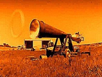"""O armă secretă: incredibilul """"tun cu vortex"""" proiectat de nazişti în timpul celui de-al doilea război mondial"""
