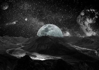 A trăi pe Lună sau în interiorul Lunii? Planuri nebuneşti de trilioane de dolari...