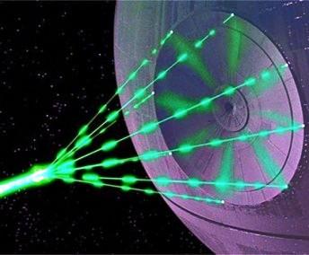 """Incredibilul laser de la Măgurele, având 10% din puterea Soarelui, se asemănă cu super-laserul Stelei Morţii din serialul SF """"Star Wars""""? Poate evapora pur şi simplu materia..."""