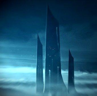 Un turn extrem de înalt şi o statuie a unei fiinţe care se roagă au fost observate pe planeta Mercur?