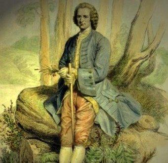 """O întâmplare savuroasă cu filozoful Jean Jacques Rousseau - ce făcu el atunci când se întâlni în pădure cu două domnişoare """"inocente""""..."""