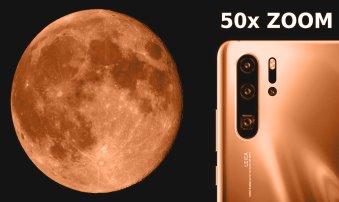 Se foloseşte Huawei P30 Pro de Inteligenţa Artificială pentru a falsifica fotografiile cu Luna? Ăsta e trendul, de a vedea doar realitatea augmentată?