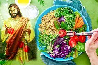 """În """"Evanghelia eseniană a păcii"""", Iisus Hristos considera că mâncarea gătită este una moartă, recomandând consumul de alimente crude, fără foc!"""