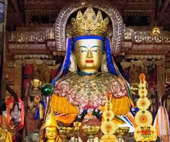 Statuie vorbitoare? Incredibila legendă a statuii de la mănăstirea tibetană Sera