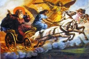 """Sf. Ilie a fost un """"extraterestru înţelept"""" trimis pe Terra şi apoi a dispărut în ceruri într-un """"car de foc"""" – susţin unii ezoterişti"""