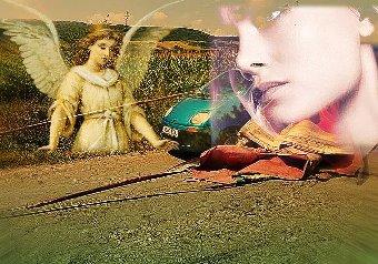 Chiar în momentul în care o bară metalică se îndrepta spre capul ei, o femeie s-a aplecat în maşină după telefon... Subconştientul ei a salvat-o, ajutată de forţe divine