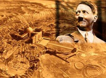 Un cercetător bulgar crede că, în timpul celui de-al doilea război mondial, naziştii au construit o bază secretă în partea întunecată a Lunii