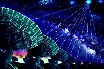 Unde radio cosmice misterioase au fost detectate într-o galaxie îndepărtată de către astronomii din Australia. Ne transmit extratereştrii mesaje?