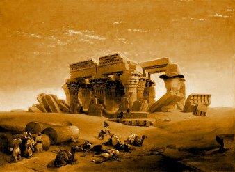 Cum au putut oamenii antici să construiască templul de la Baalbek, cu pietre masive cântărind 800 de tone!? Se sugerează că acest loc a fost un centru spaţial folosit de zeii extratereştri Anunnaki...