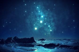 """Misterioasa """"stea albastră"""", dincolo de sistemul nostru solar, şi influenţa ei asupra sufletului uman"""