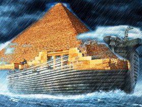 """Marea piramidă din Egipt are legătură cu """"potopul lui Noe""""... Acolo s-ar păstra toate cunoştinţele secrete de pe Terra, mai vechi de 10.000 de ani!"""