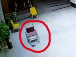 """Un scaun cu rotile """"bântuit"""" dintr-un spital din India îi sperie de moarte pe angajaţi. Prezenţă supranaturală?"""