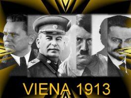 În 1913, în Viena se aflau în acelaşi timp Hitler, Stalin, Troţki şi Tito, pe atunci total necunoscuţi. Coincidenţă?