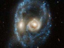"""O """"faţă umană fantomatică"""" de dimensiuni cosmice a fost surprinsă de astronomi"""