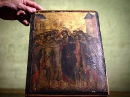 Descoperire fabuloasă a unei femei în casa sa modestă: o pictură veche de 700 de ani, care acum valorează 6 milioane de euro!