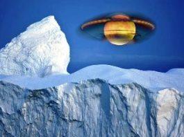Farfurii zburătoare misterioase, de dimensiuni foarte mari, observate în Antarctica