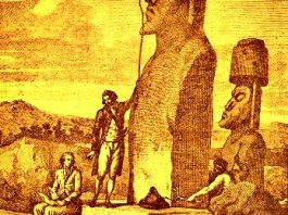 Misterul sculpturilor gigantice din Insula Paştelui au fost rezolvate de un navigator francez încă din 1786! Nu l-a citit nimeni?