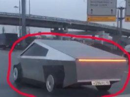 Noua maşină futuristă Tesla Cybertruck a fost deja văzută pe străzile din Rusia cu 2 ani înainte de a fi comercializată?