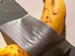 """Secretul """"operei de artă"""" vândută la Miami - banana lipită cu bandă adezivă"""