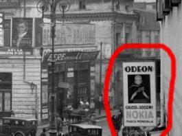 """Galoşi şi şoşoni marca """"Nokia"""" într-o fotografie din anii '30 din Bucureşti!?"""